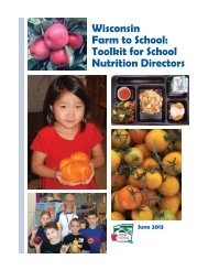 Wisconsin Farm to School - Center for Integrated Agricultural Systems