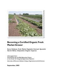 Becoming a Certified Organic Fresh Market Grower - Center for ...