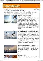Handelsblatt - BI Gegenwind-Mudau