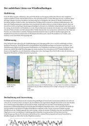 Der unhörbare Lärm von Windkraftanlagen - BI-Knoten