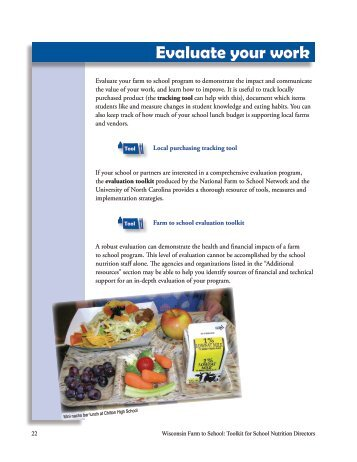 8-evaluate-your-work.. - Center for Integrated Agricultural Systems