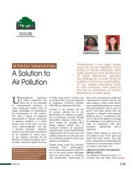 A Solution to Air Pollution - Center for Urban Green Spaces