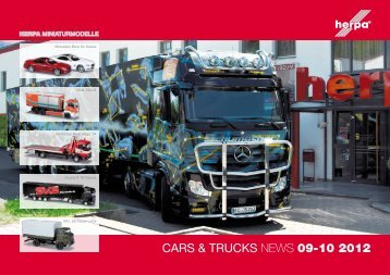 CARS & TRUCKS NEWS 09-10 2012 - Herpa