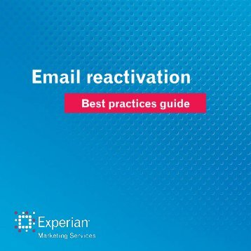 email-reactivation-best-practices-guide