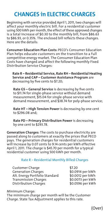 More PECO Smart Ideas®...