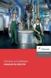 Clariant in Leinfelden –
