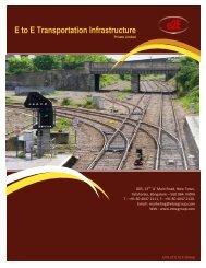E to E Transportation Infrastructure