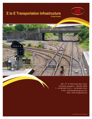 E to E Transportation Infrastructure