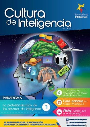 Revista Cultura de Inteligencia