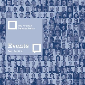 Events - The Financial Services Forum
