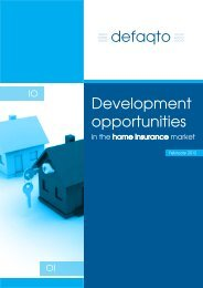 Development opportunities - The Financial Services Forum