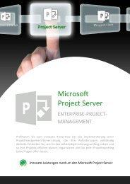 Microsoft Project Server - innocate solutions gmbh