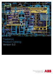 Freelance Product Catalog Version 9.2 - Kempston Controls