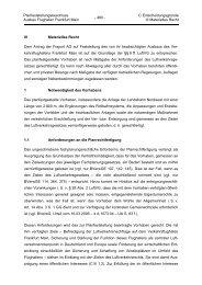 Planfeststellungsbeschluss Teil C III 1