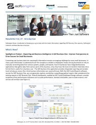 Newsletter Vol 27 Spotlight - Softengine Inc.