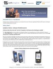 Newsletter Vol 12 Spotlight - Softengine Inc.