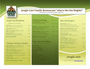 Jungle cats - Broadbeach