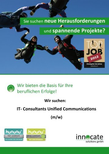 IT- Consultants Unified Communications - innocate solutions gmbh