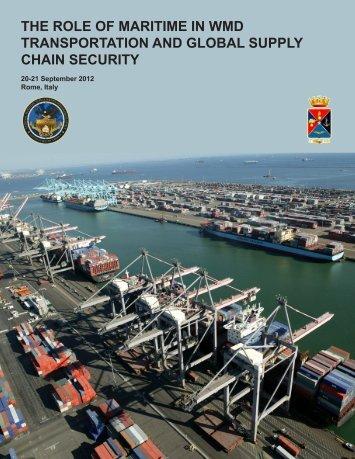 20-21 September 2012, Rome, Italy - National Maritime Intelligence ...