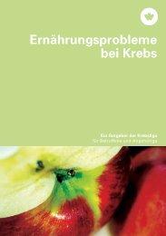 Ernährungsprobleme bei Krebs - Palliativ Luzern
