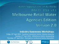 The New MRWA Edition of the WSAA Water Supply Code