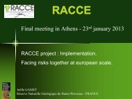 Final meeting in Athens - 23rd january 2013 - racce