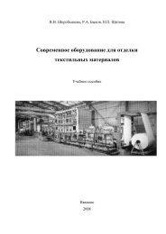 Современное оборудование для отделки текстильных материалов