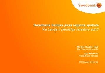 Kopsavilkums - Swedbank