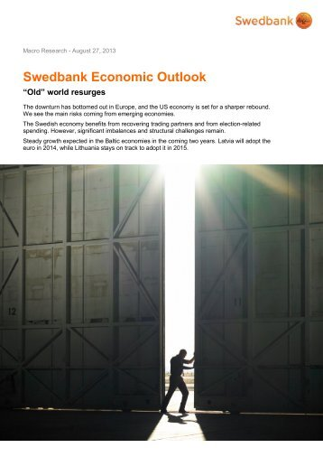 Swedbank Economic Outlook Swedbank Economic Outlook ...