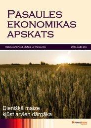 Dienišķā maize kļūst arvien dārgāka - Swedbank