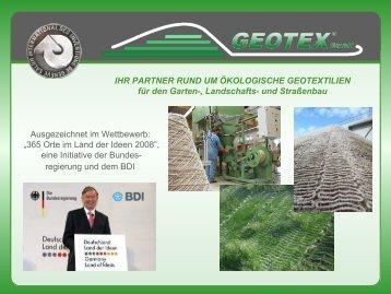 realisierte projekte 2009 geotex gmbh - Konsumguter Beispiele