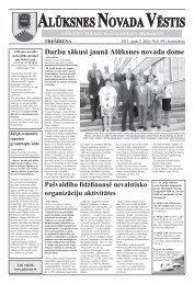 Iznācis pašvaldības laikraksta