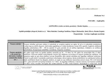 Pielikums Nr.1 NOZARE - Lauksaimnieku Organizāciju Sadarbības ...
