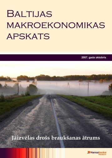 Oktobris 2007 - Swedbank