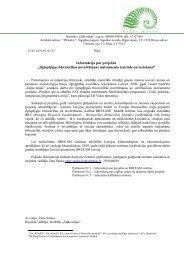 """Informācija par projektu """"Ilgtspējīgas būvniecības ... - LEAA"""