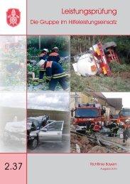 Richtlinie - Feuerwehr Mannsflur