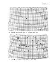 22. pielikums 1. att. Krokain s rozes izplat ba Latvij l dz 1950. g. (V b ...