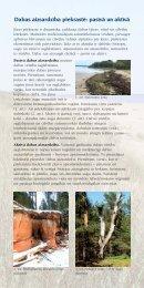 Dabas aizsardziba makets - Piekrastes biotopu aizsardzība un ...