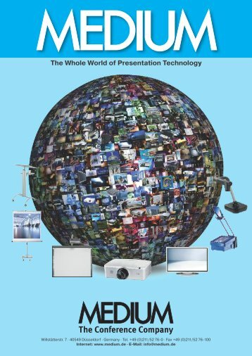 The Whole World of Presentation Technology -  Medium
