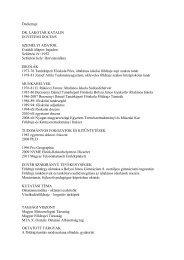 Letöltés (pdf) - NYME Természettudományi Kar - Nyugat ...