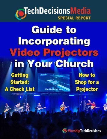 Incorporating Projectors In Your Church - Mainline Marketing