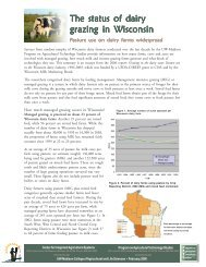 Read a summary of this report - Center for Integrated Agricultural ...