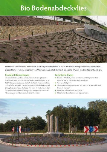 Bio Bodenabdeckvlies