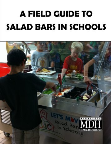 A Field Guide To Salad Bars In Schools - Minnesota Department of ...