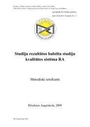 TERMINU SKAIDROJUMS - Rēzeknes Augstskola