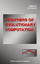 Frontiers of Evolutionary Computation - preterhuman.net