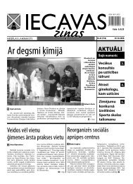 30.10.2009 (Nr.43) - Iecavas novads