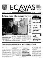 21.01.2011. (Nr.3) - Iecavas novads