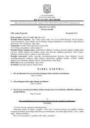 19.01.2012 Domes ārkārtas sēdes protokols Nr.2 - Iecavas novads
