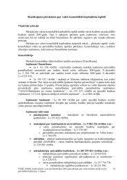 Skaidrojums pārskatam par valsts konsolidētā ... - Valsts kase
